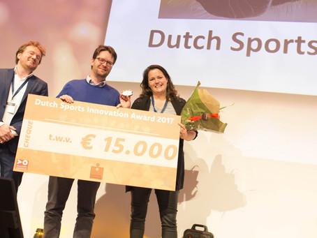 Ipos Technology wint Dutch Sport Innovation Award 2017