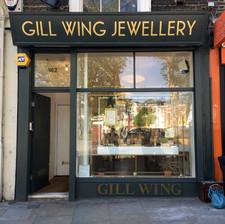 Gill wing jewellery gold leaf fascia
