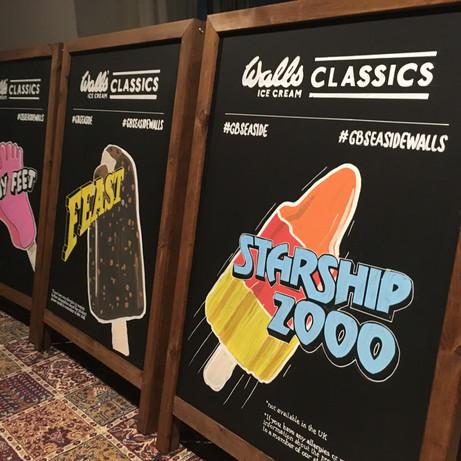 Walls Classics A-boards