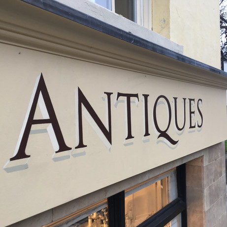 Matthew Upham Antiques Fascia