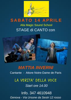 Stage Mattia Inverni