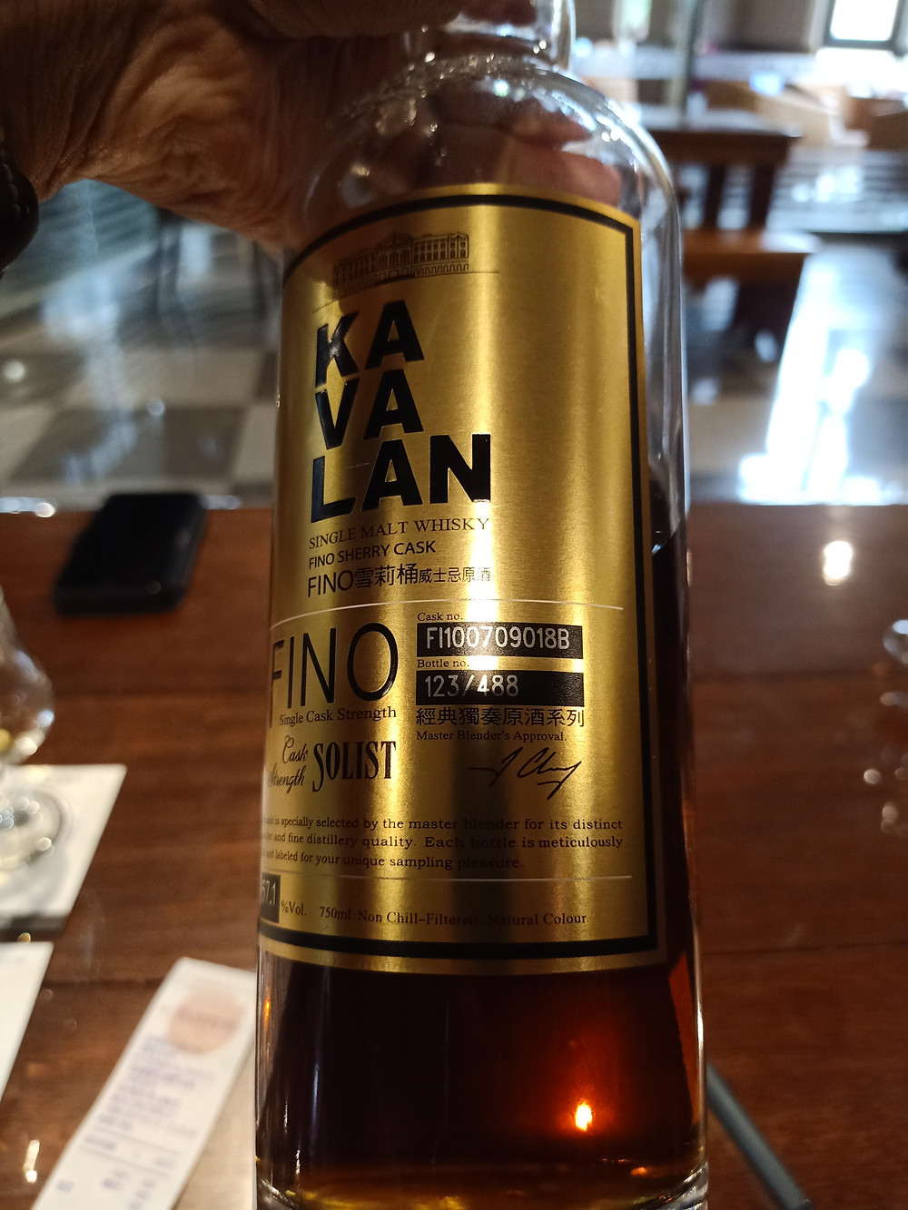 Kavalan Fino Sherry Solist Whisky
