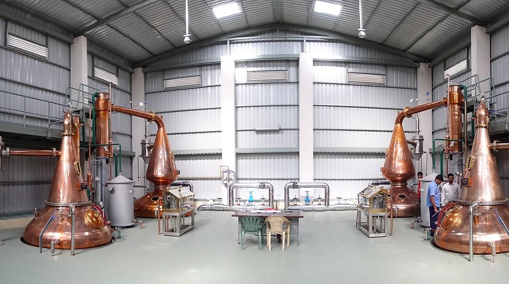 Amrut Distilleries, Stillhouse