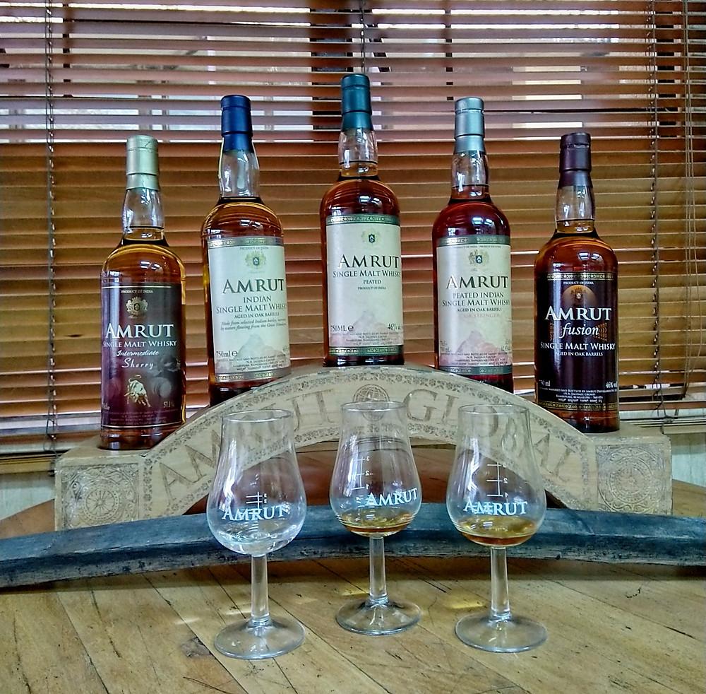 Amrut whisky, single malt