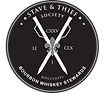 Stave & Thief Society and Bourbon Steward Logo