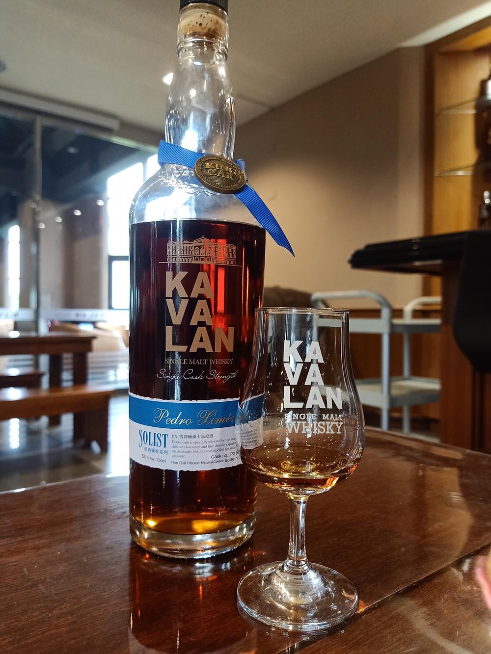 Kavalan Pedro Ximenez Sherry Solist Whisky