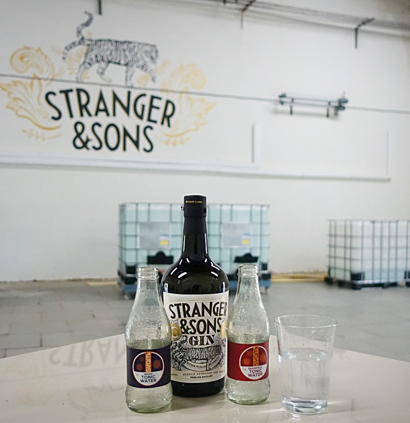 Stranger & Sons Gin with Svami Tonic