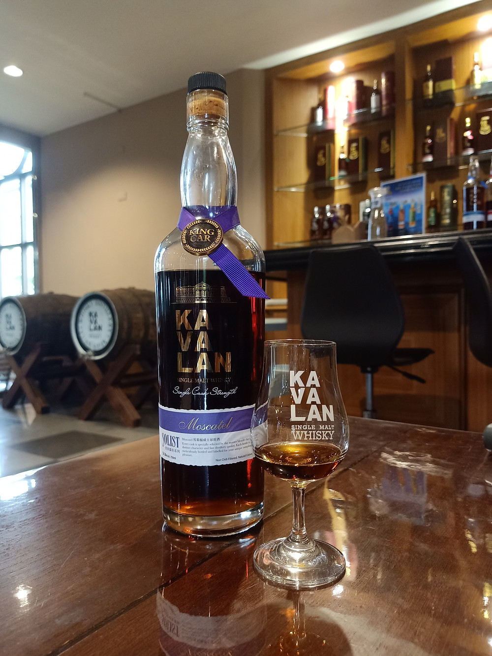 Kavalan Moscatel Sherry Solist Whisky