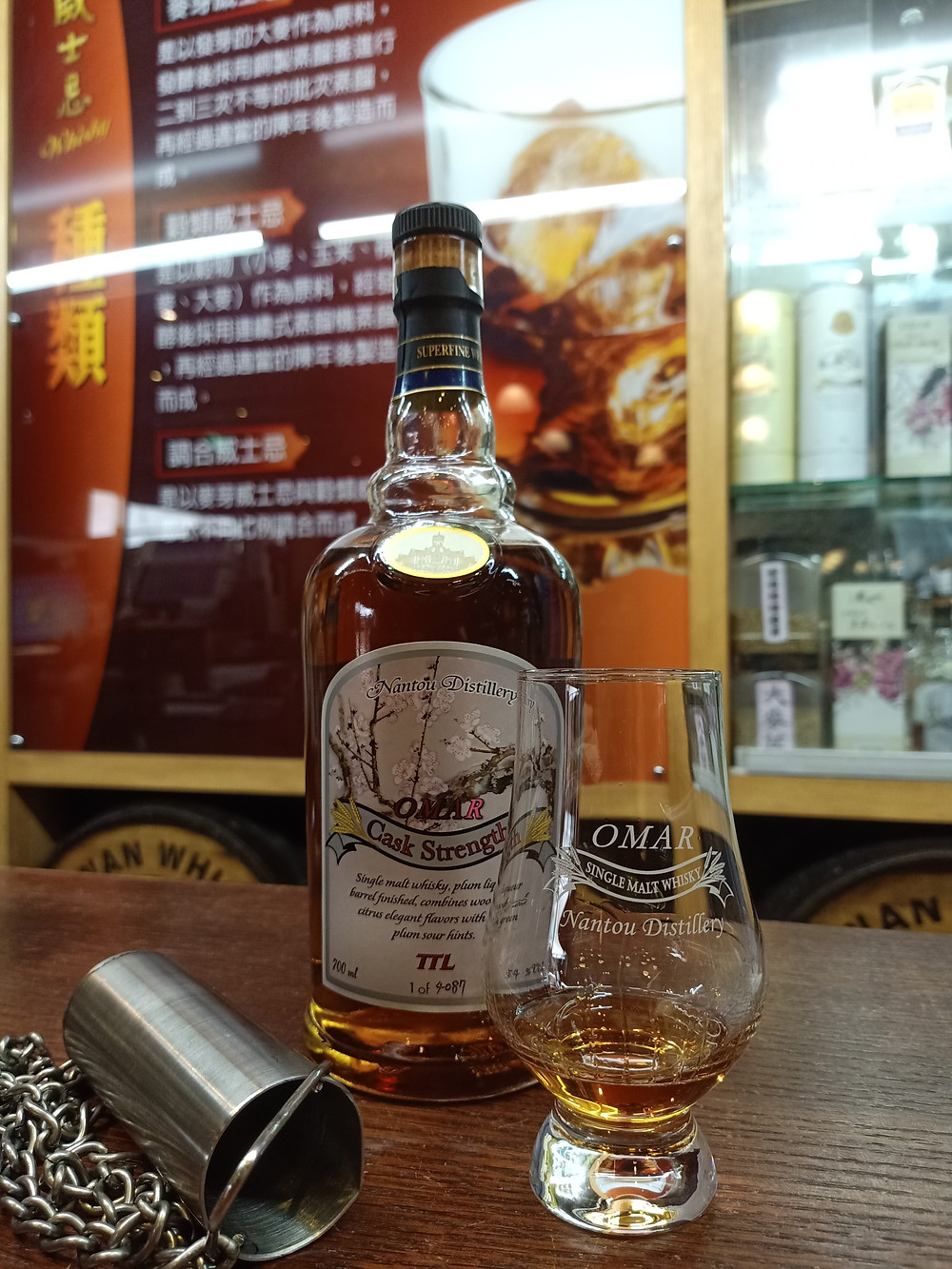Kavalan ex-Bourbon and Sherry oak 46% whiskies