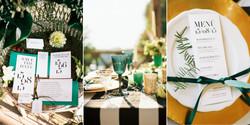 Hochzeitseinladung in schwarz & weiß