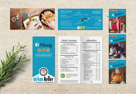 STATIONERY DESIGN – MENU, FLYER, POSTERS