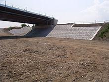 主要地方道 栃木二宮線 護岸工事