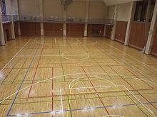 栃木市総合運動公園総合体育館サブ競技場床張替復旧工事