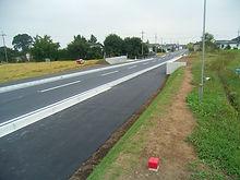 主要地方道栃木粟野線 道路改良工事