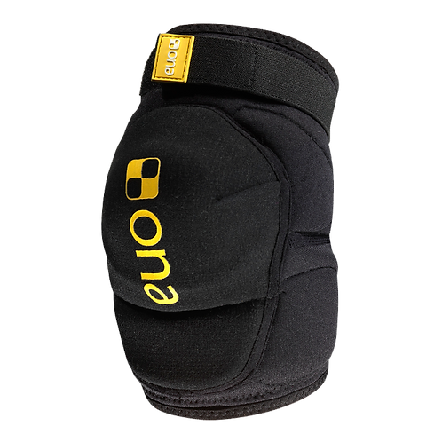 ONA elbow pads black and yellow