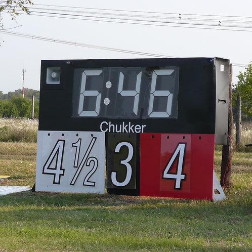 Polo clock