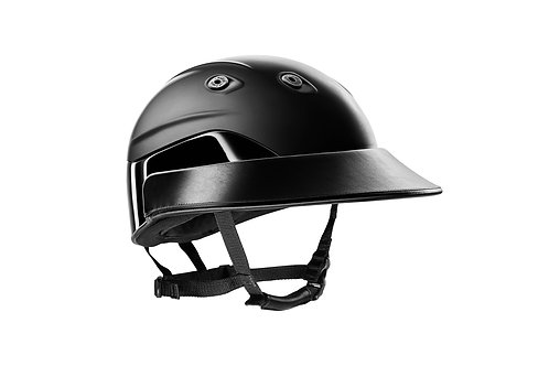 "ARMIS ""Shadow"" polo helmet black HPA approved"