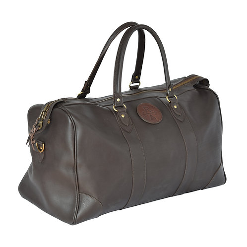 Ainsley Polo Heritage leather bag dark brown