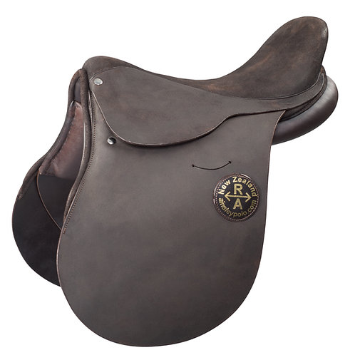 The original roughout Ainsley Polo saddle