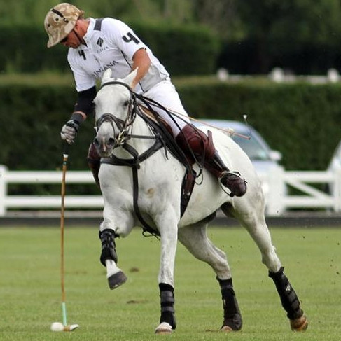 Ruki Baillieu plays in Ainsley Polo saddles