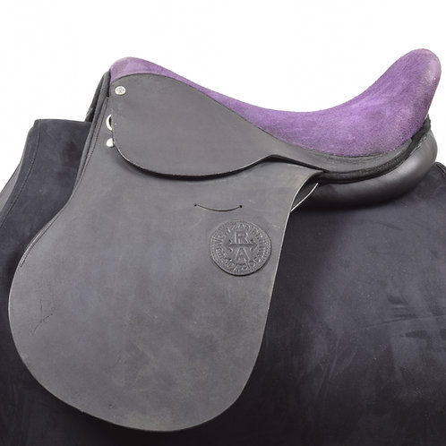 Clarkin polo saddle black and purple by Ainsley