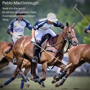 Pablo MacDonough also prefers HUSK tendon boots