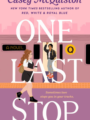 """Haley's Pick: """"One Last Stop"""" by Casey McQuiston"""