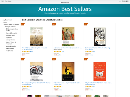 Made #5 on Amazon Best Sellers