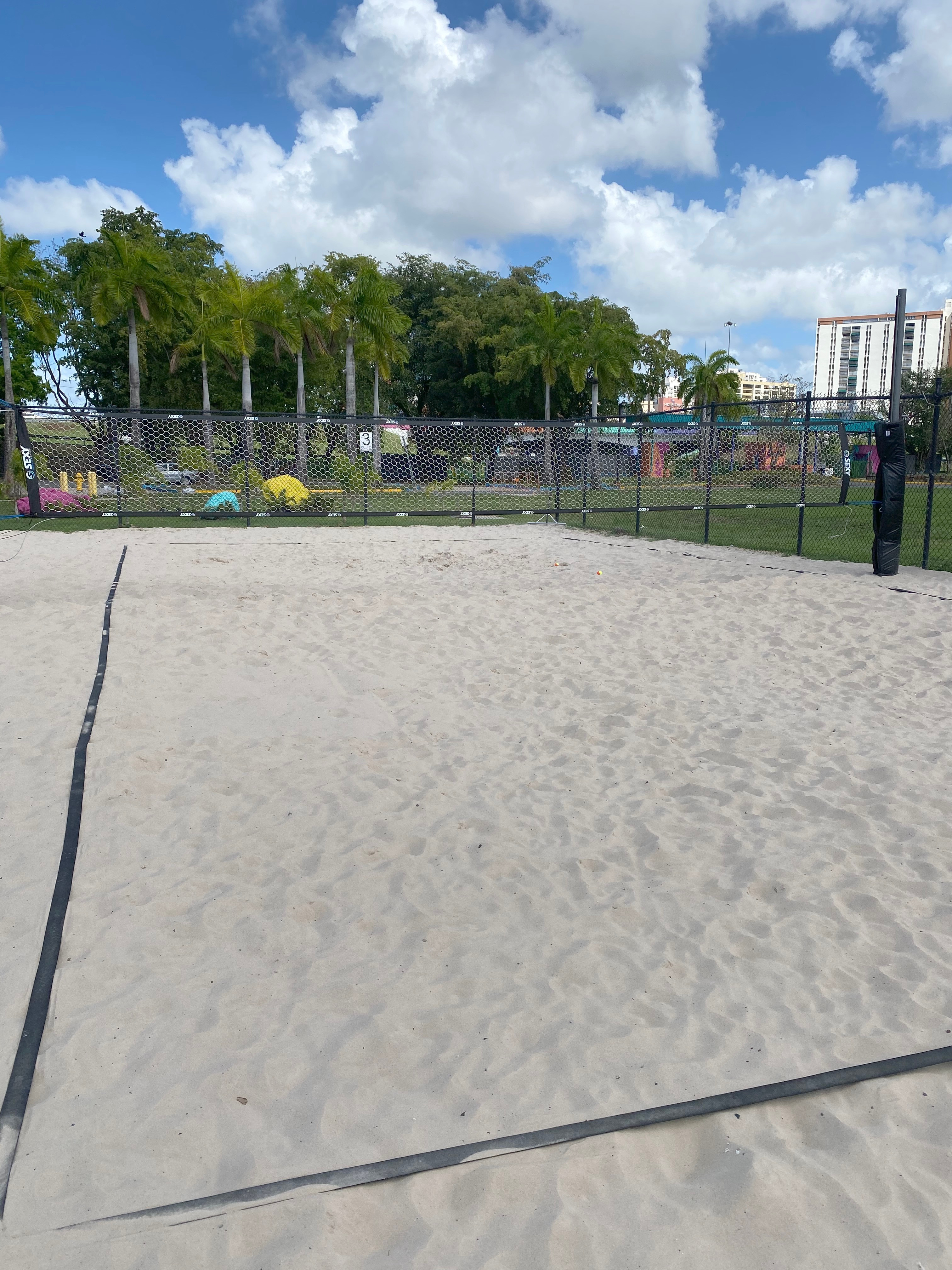 Tennis/Volley Beach Court 3