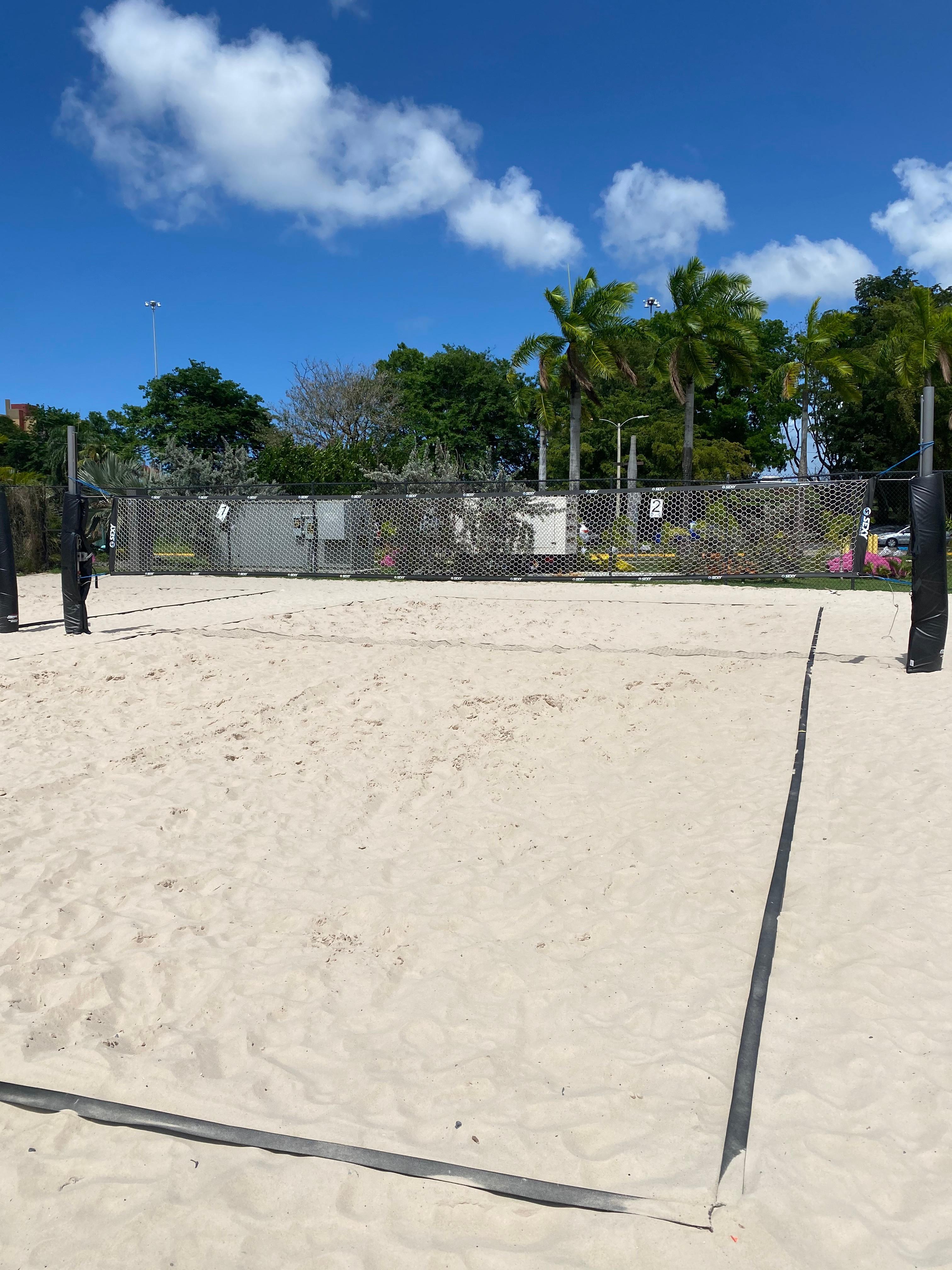 Tennis/Volley Beach Court 2