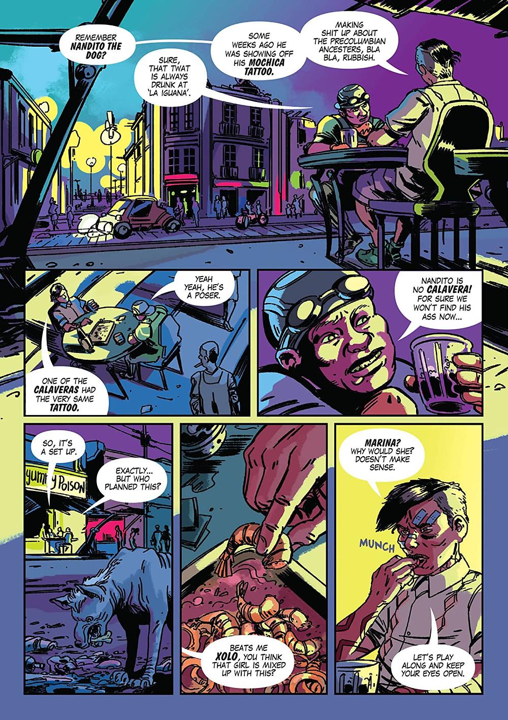 Trujillo, Page 3, Tacu Tinta Press, Gustaffo Vargas