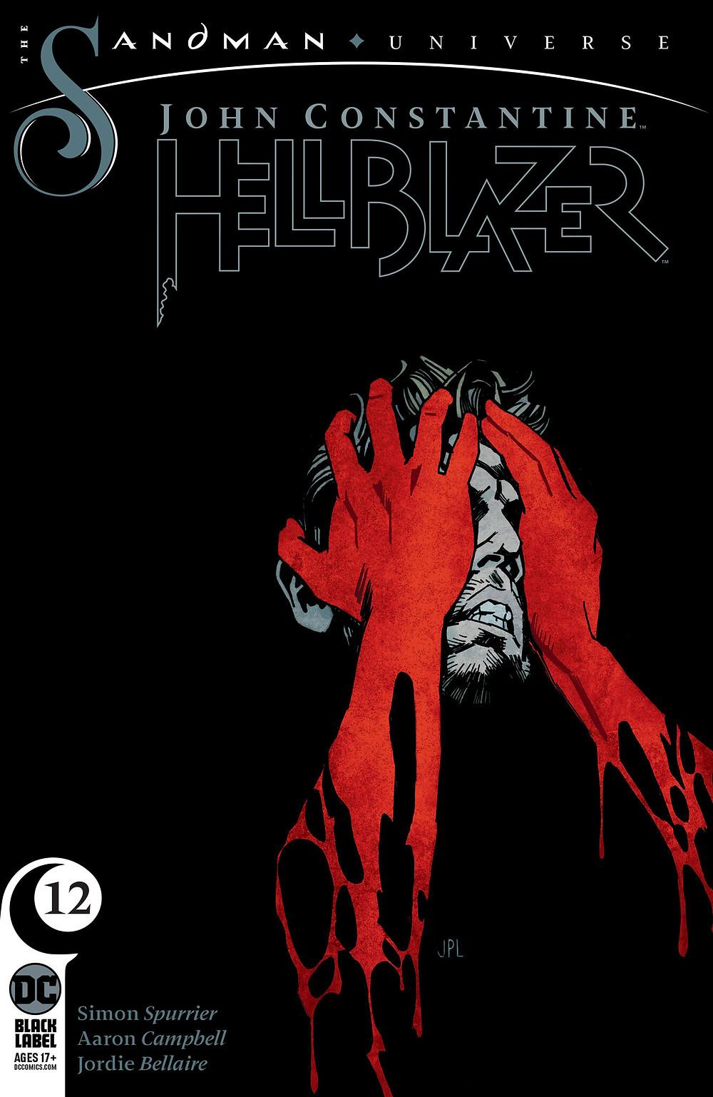 John Constantine: Hellblazer, issue #12, cover, DC Comics, John Paul Leon