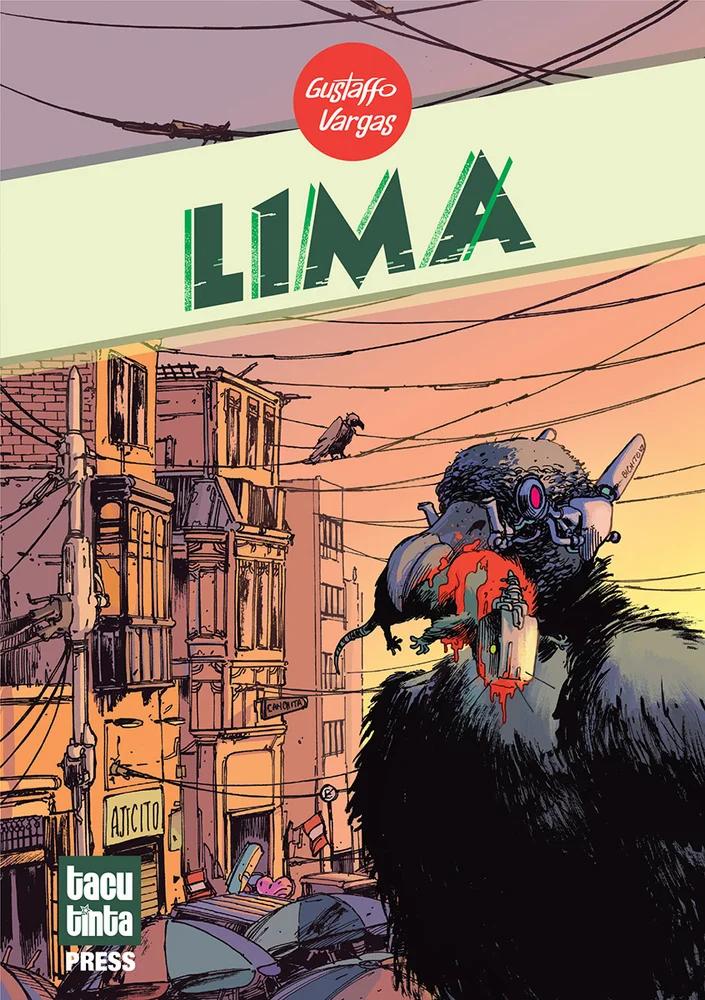 L1MA, Cover, Tacu Tinta Press, Gustaffo Vargas