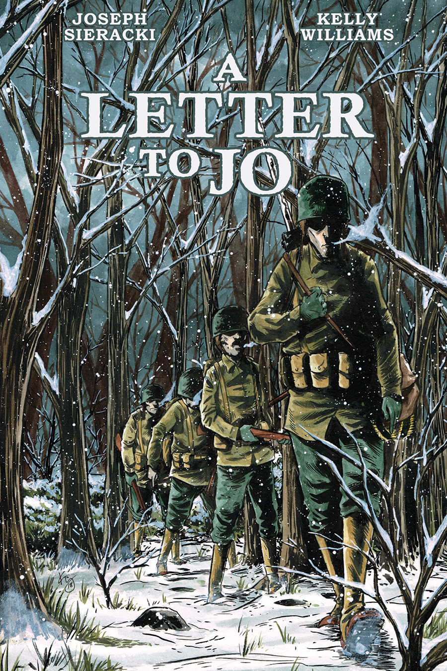 A Letter to Jo, Graphic Novel, cover, Top Shelf Productions/IDW, Kelly Williams