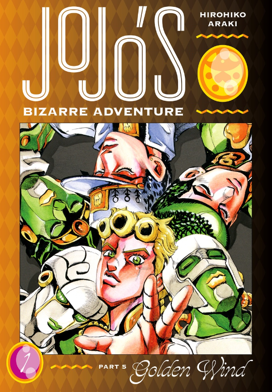 JoJo's Bizarre Adventure: Golden Wind, Vol. 1, Viz Media, Hirohiko Araki