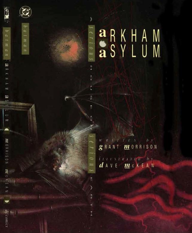 Arkham Asylum: A Serious House on a Serious Earth, orignal hardcover, DC Comics, Dave McKean