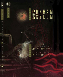 Arkham Asylum: A Serious House on a Serious Earth, orignal hardcover, DC Comics, Dave McKean