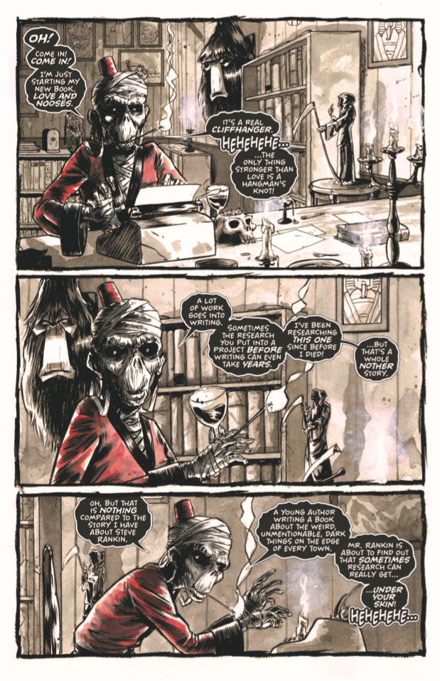 The Dark, Collection One, Page 1, Source Point Press, Kelly Williams
