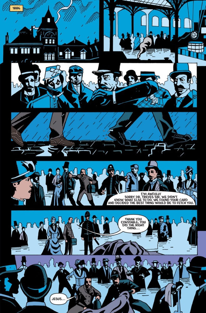 Merrick, Issue #1, Page 1, self-published, Luke Parker
