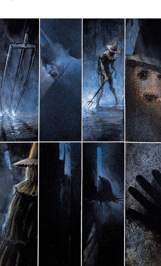 Arkham Asylum: A Serious House on a Serious Earth, 25th Anniversary Edition,Page 63, DC Comics, Dave McKean