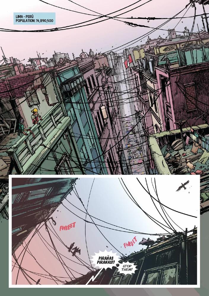 L1MA, Issue #1, Page 1, Tacu Tinta Press, Gustaffo Vargas