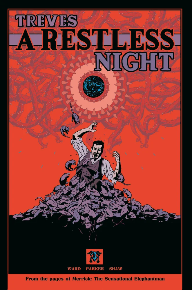 Treves: A Restless Night, issue #1, cover, self-published, Luke Parker