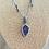 Thumbnail: Amethyst Teardrop necklace