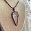 Thumbnail: Citrine druzy necklace