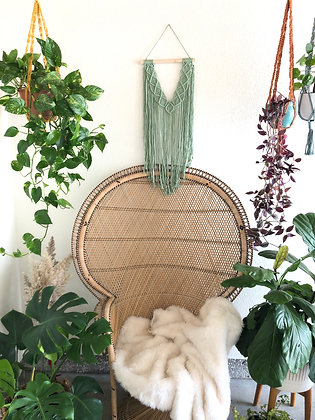 Cactu macrame wall decor