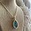 Thumbnail: Peacock ore necklace