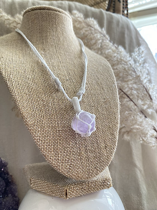 sphere amethyst necklace