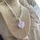 Thumbnail: sphere amethyst necklace
