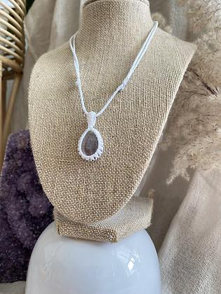 Teardrop Fluorite necklace