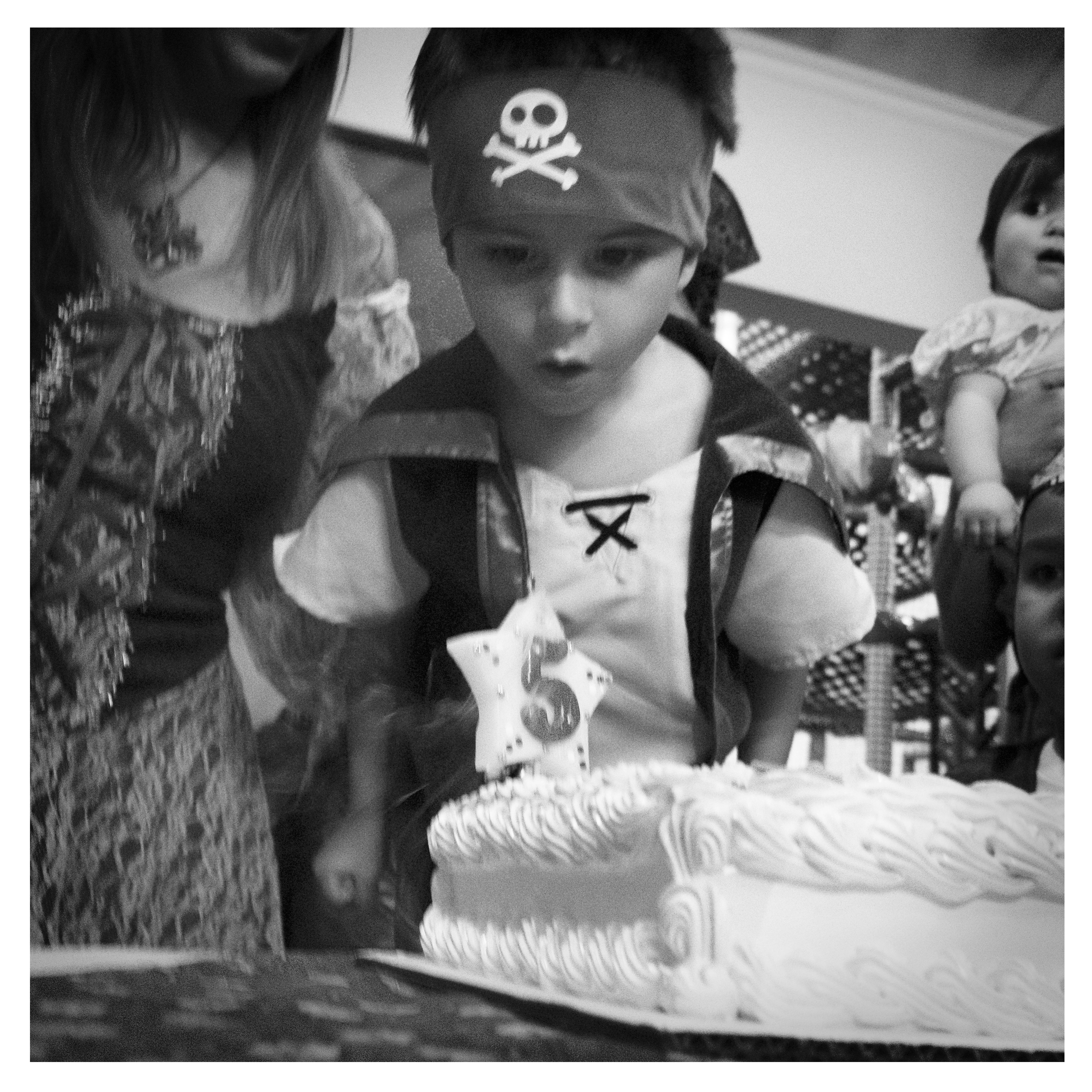 5 Year Old Pirate Party